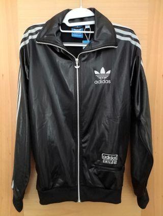 Chaqueta Adidas negra y plata talla XS