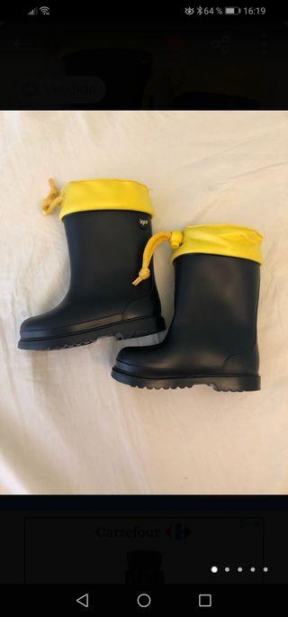 botas de agua n°24