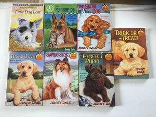 7 English language Books young reader Dogs