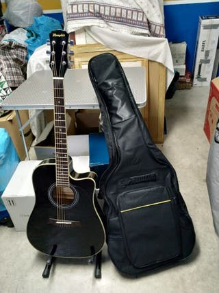 Guitarra electroacústica Memphis CF68LC-BK