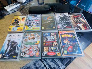 Vendo PSP 3004 Edición Grán Turismo con 9 juegos