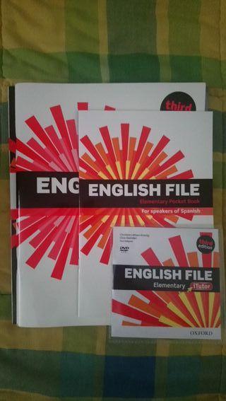 Libro Inglés English File Elementary