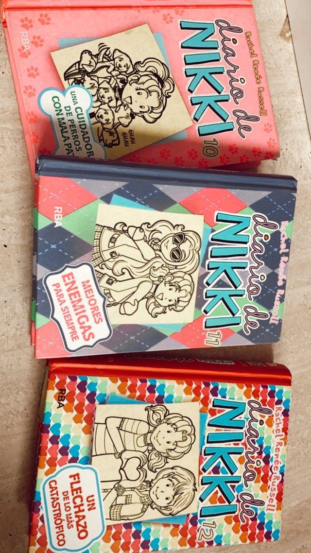 Libros diario de nikki