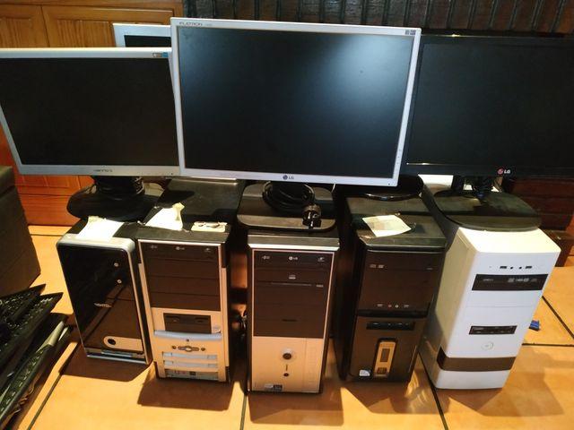 5 ordenadores sobremesa