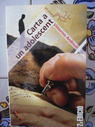 Carta a un adolescent. Llibre en valencià