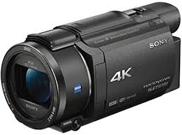 Handycam® 4K AX53 con CMOS Exmor R® FDR-AX53
