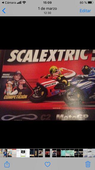 Circuito Scalextric Moto GP