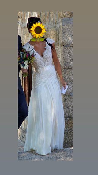 Vestido novia talla 36