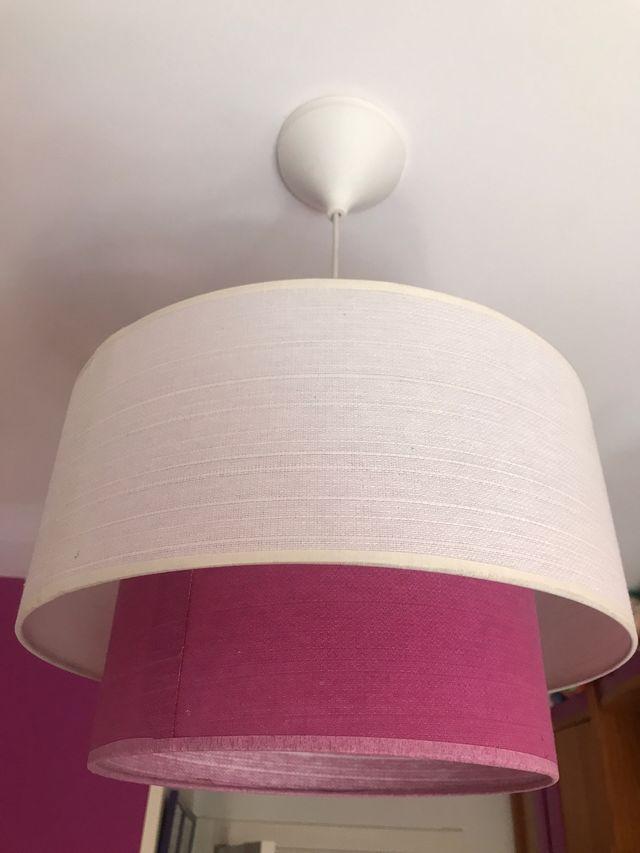 Lámpara de techo sencilla y muy decorativa