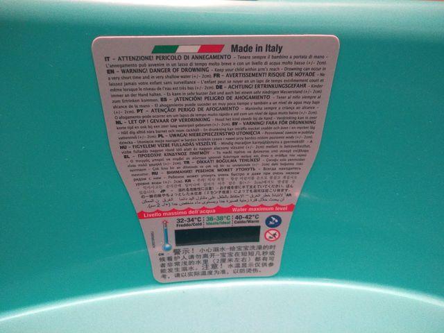 bañera portátil onda baby verde