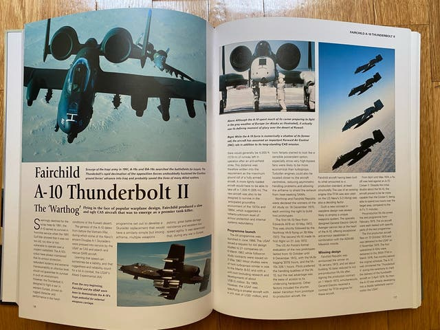 "Libro ""Encyclopedia of military jets"""