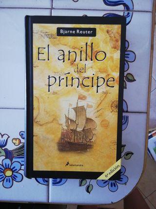 El anillo del príncipe. Libro tapa dura