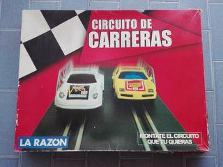 CIRCUITO DE CARRERAS SCALEXTRIC LA RAZON