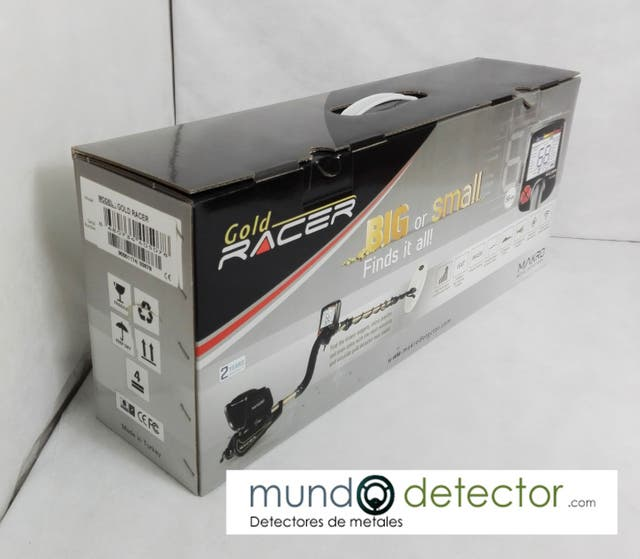 Detector de metales MAKRO GOLD RACER