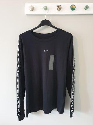 camiseta manga larga Nike negro M