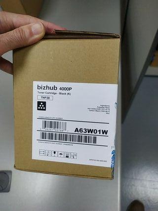 Toner impresora HP bizhub 4000P