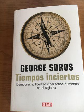 Tiempos inciertos . George Soros