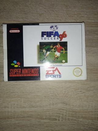 FIFA 96 super Nintendo(completo)