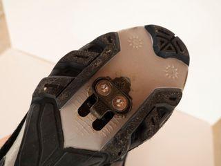 Zapatillas bicicleta/Spinning + calas