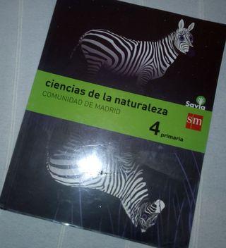 Libro Ciencias de la Naturaleza 4º Primaria