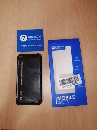 funda más protector de pantalla iphone