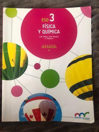 Libro Física y Quimica 3 ESO