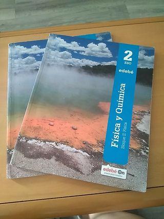 libro física y química 2° Eso edebe