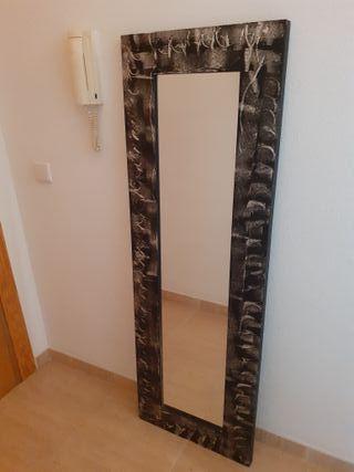Espejo marco decorado