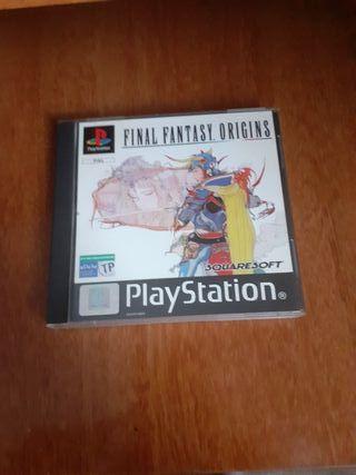 Final Fantasy Origins Ps1