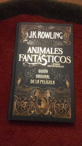 LIBRO ANIMALES FANTASTICOS J K ROWLILNG