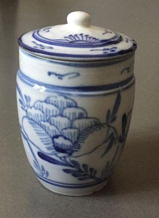 pot - jarre chinois grès porcelaineux début XXe