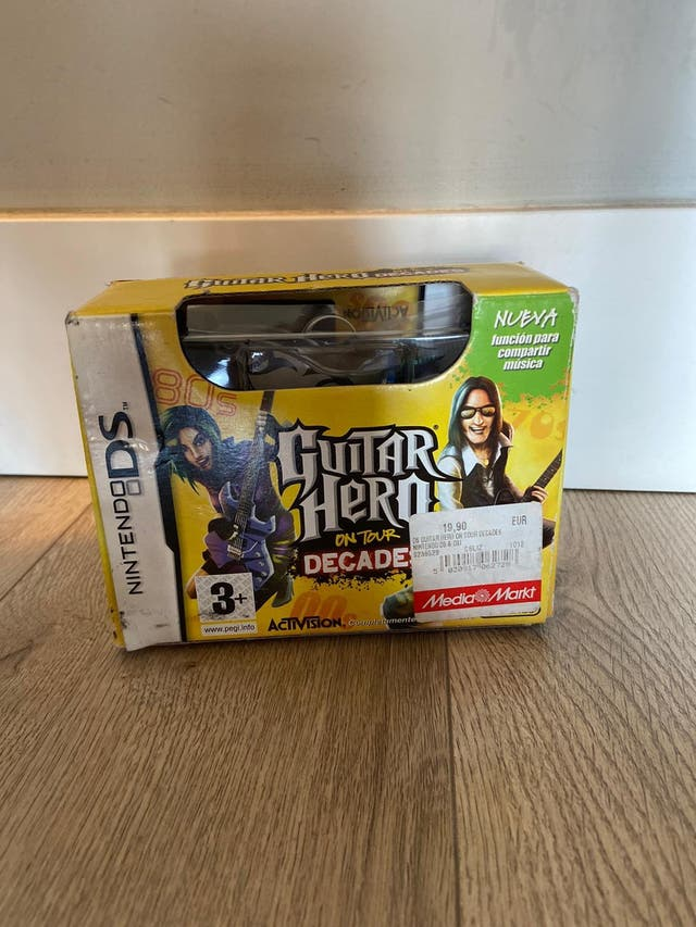 Guitar Hero Nintendo DS