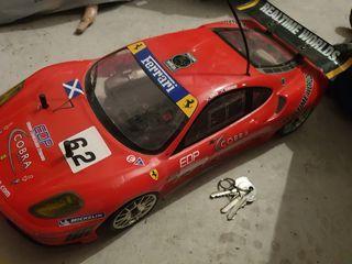 coche radio control gasolina Ferrari