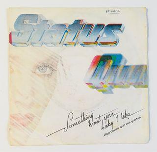 Status Quo Disco Vinilo Single