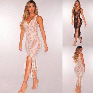 vestido encaje sexy