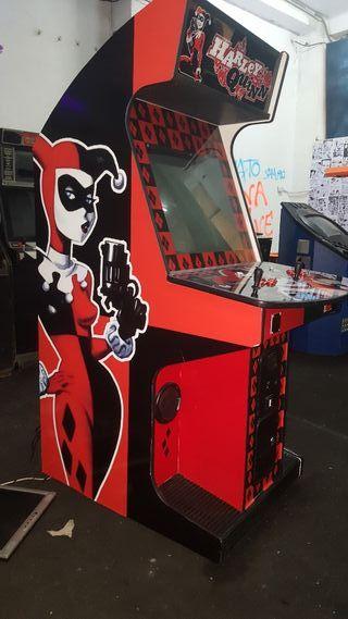 Máquina Arcade Harley Quinn
