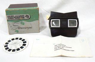 Visor VIEW-MASTER SAWYER´S Stereoscope + 1 disco