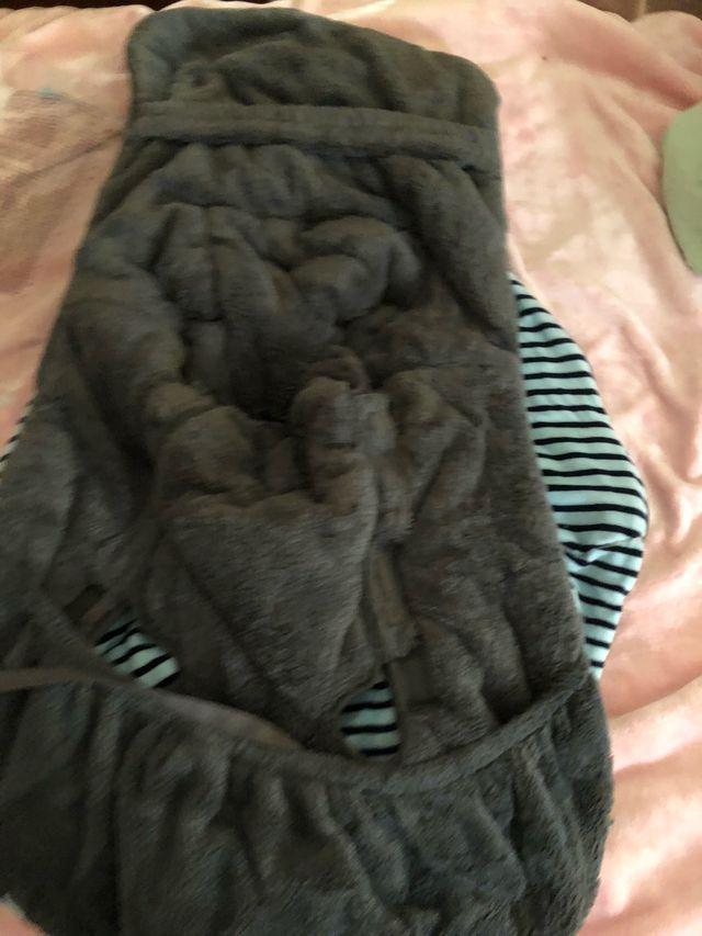 Saco silla tuc tuc bebe invierno