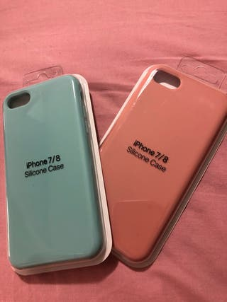 2 fundas iphone 7/8