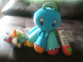 Lote juguetes bebe