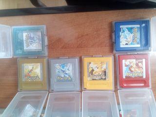 pack coleccionista de Pokémon gameboy