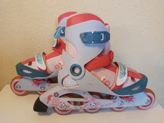 PATINES INFANTILES OXELO ROSA 36-38