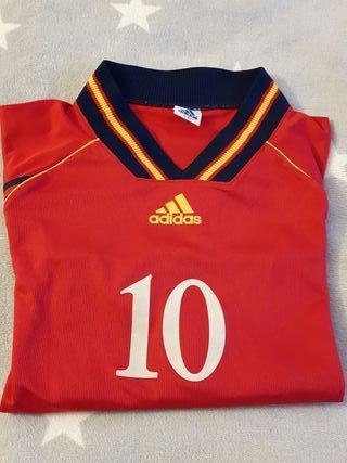 Camiseta de futbol (talla M/L)