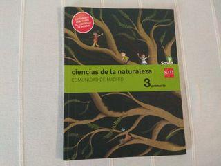 Libro Ciencias de la Naturaleza 3º Primaria.