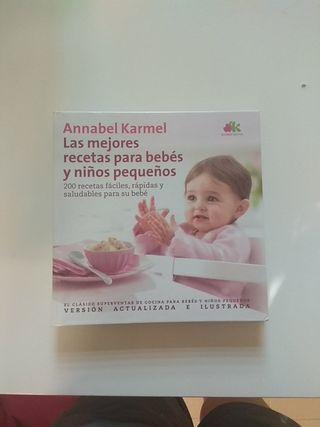 Libro Las mejores recetas para bebés y niños