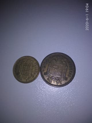 Antigua moneda de 2'5 pesetas difícil de conseguir