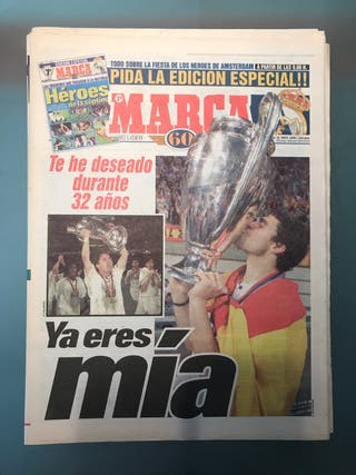Periódico 7 Champions League Real Madrid