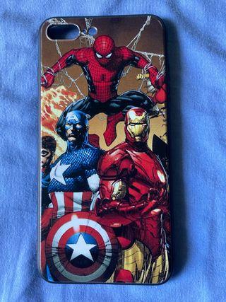 Funda Apple iPhone 7 Plus Marvel