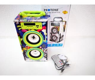 Altavoz Protone Rock Roll Pr100bt-4