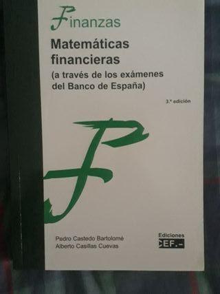 Matemáticas financieras (a través de los exámenes)